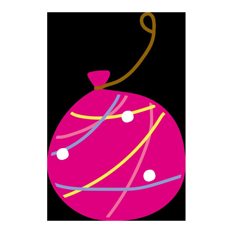 ピンクのヨーヨー2