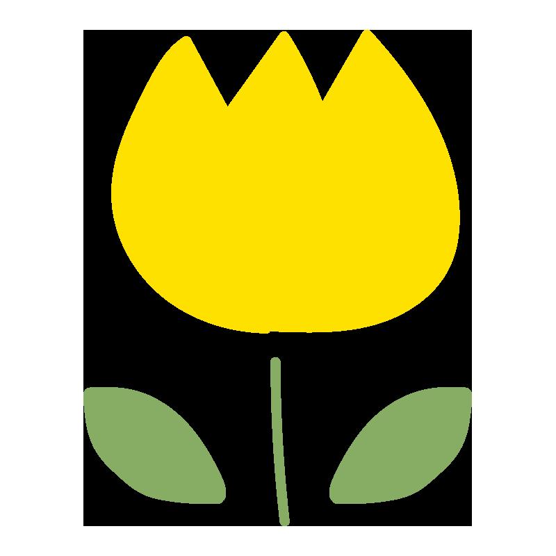 チューリップ(黄色)2
