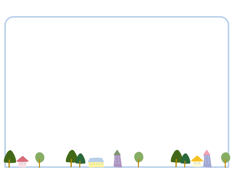 小さな街の枠