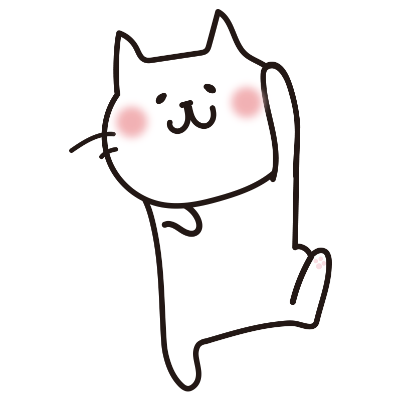遊ぶ白い猫