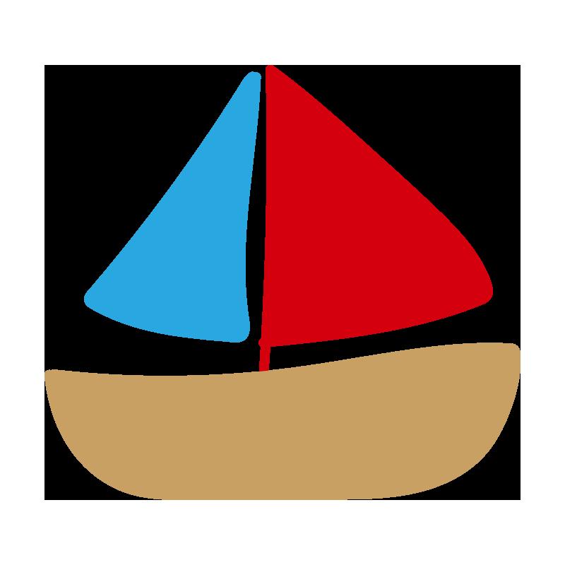赤と青のヨット2