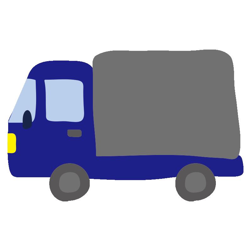 小型トラック(青)2