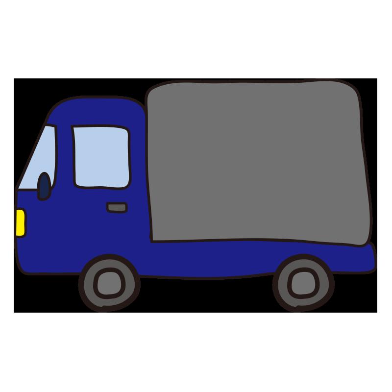 小型トラック(青)1