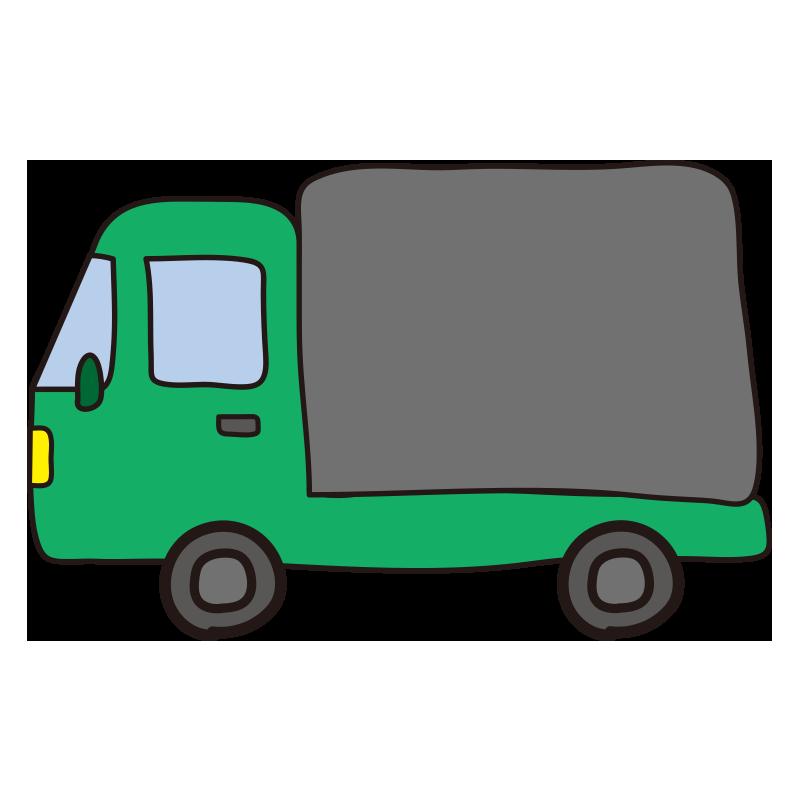 小型トラック(緑)1