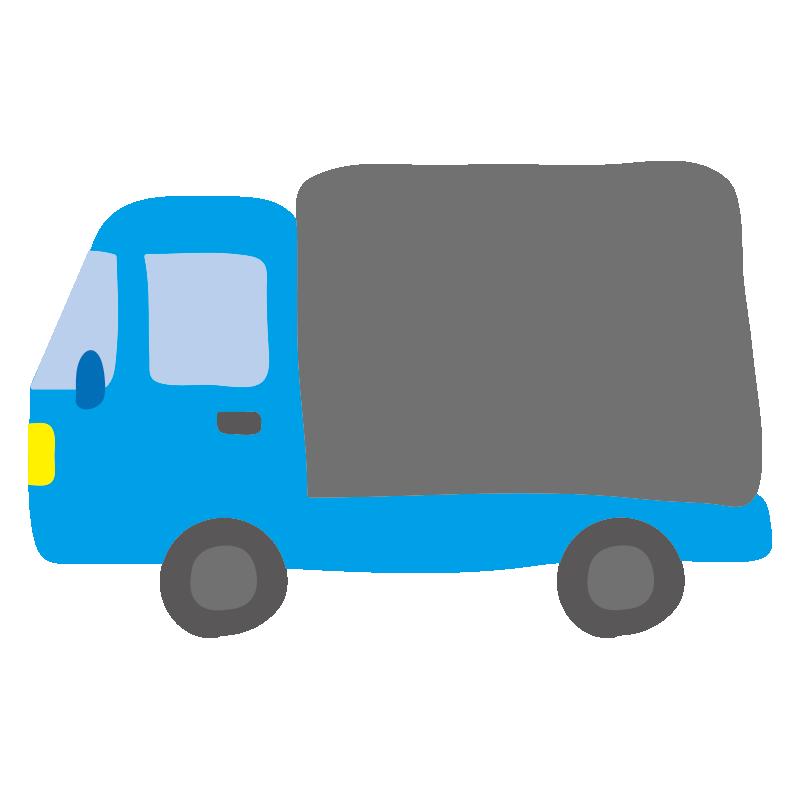 小型トラック(水色)2