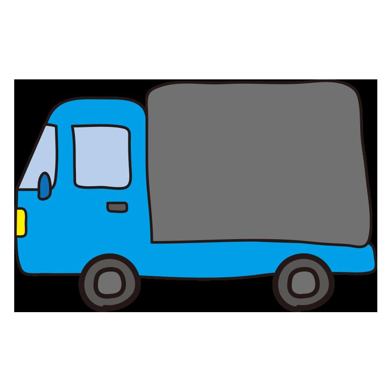 小型トラック(水色)1