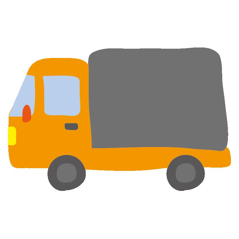 小型トラック(オレンジ)2