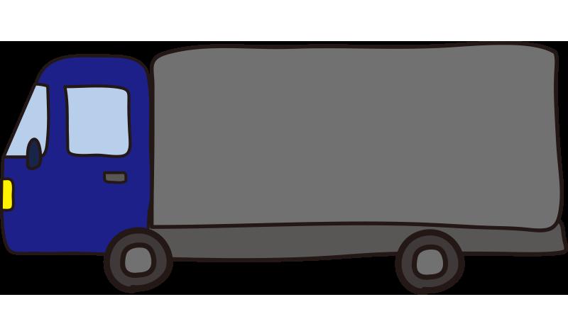 大型トラック(青)1