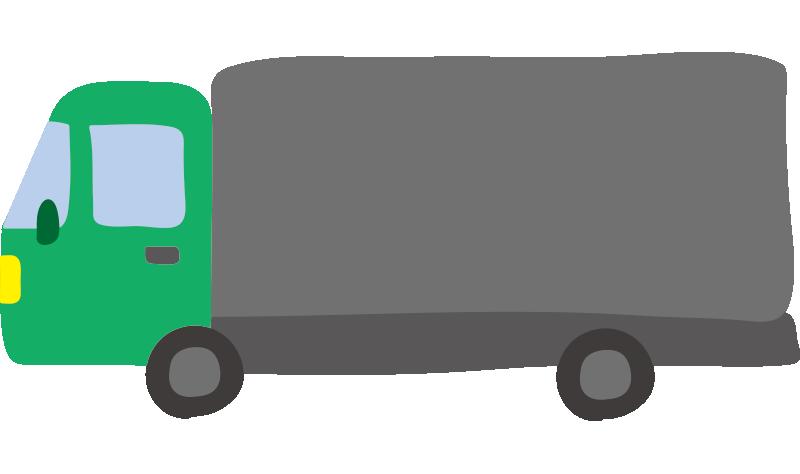 大型トラック(緑)2