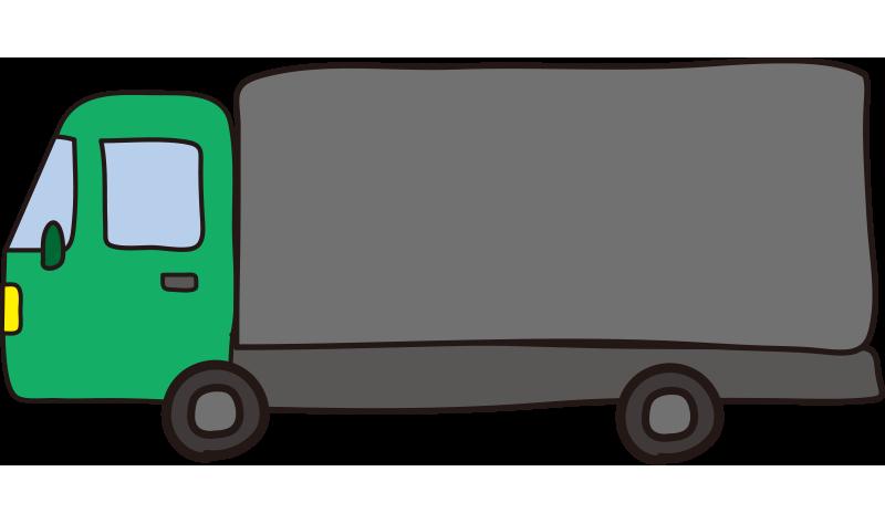 大型トラック(緑)1