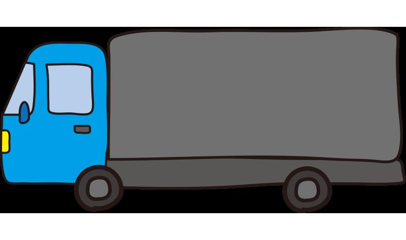 大型トラック(水色)1