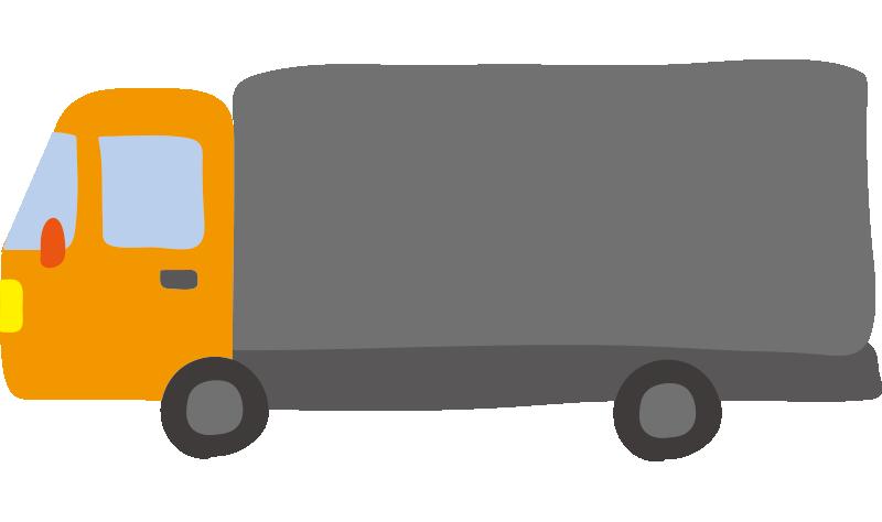 大型トラック(オレンジ)2