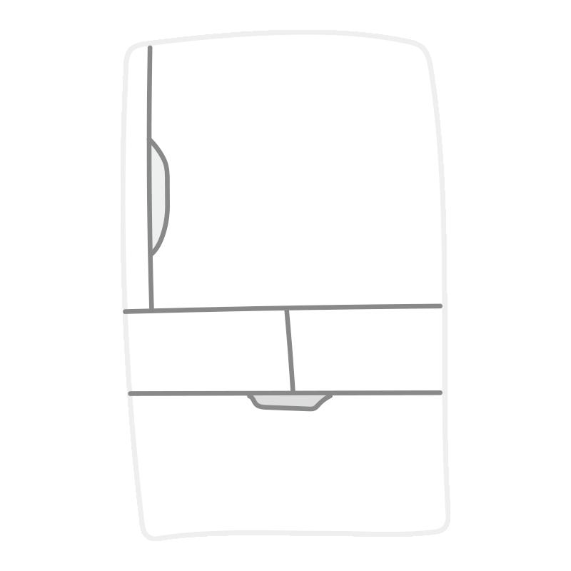 白い冷蔵庫2