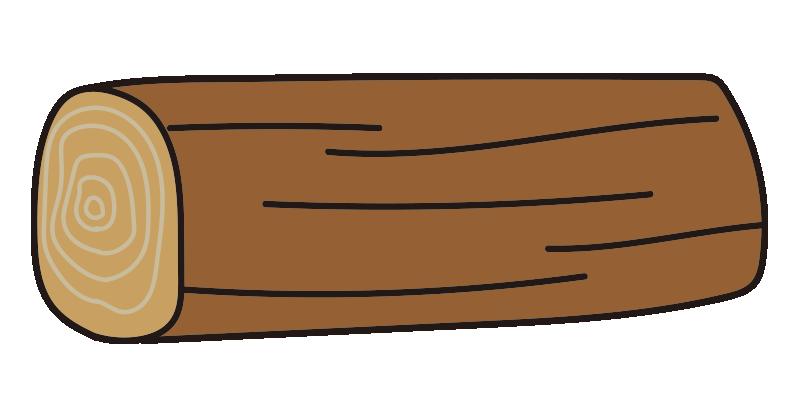 短い丸太1
