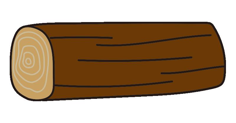 短い丸太2