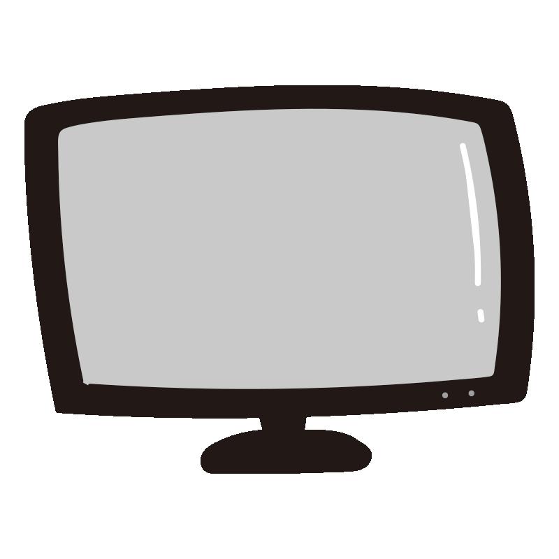 黒いテレビ