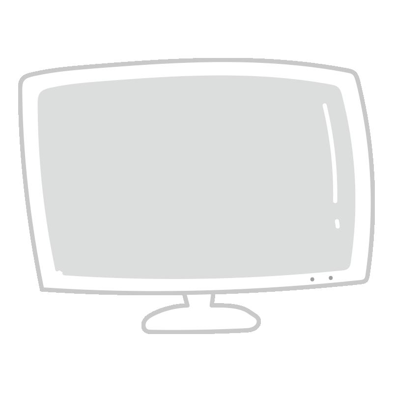 白いテレビ