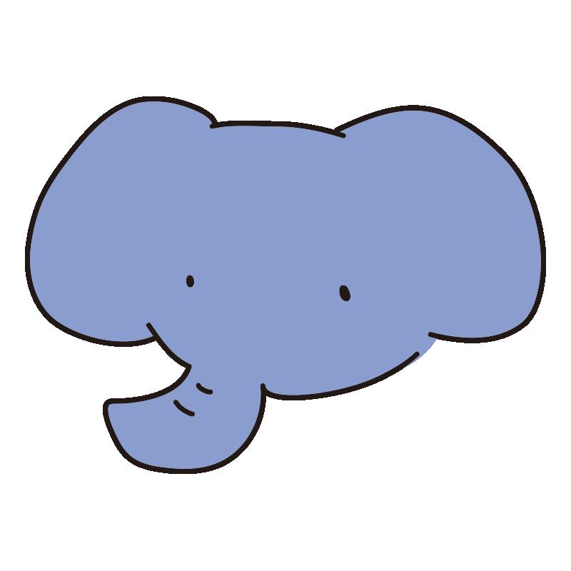ゆるい青いゾウ