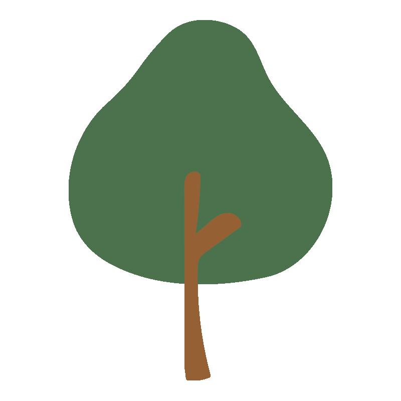 秋の木(緑)2