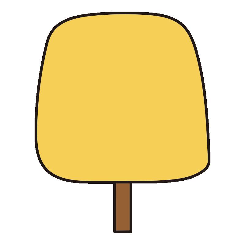 四角い秋の木(黄)1