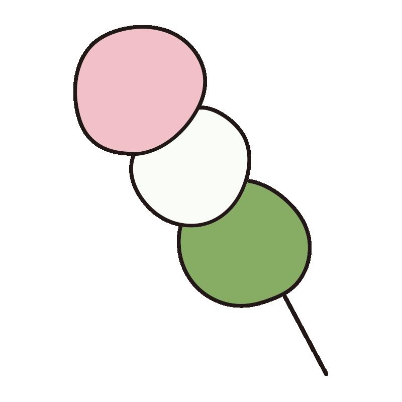 3色団子1