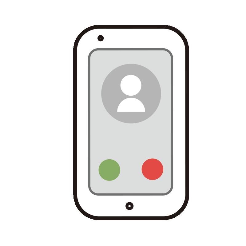 電話の画面のスマートフォン1