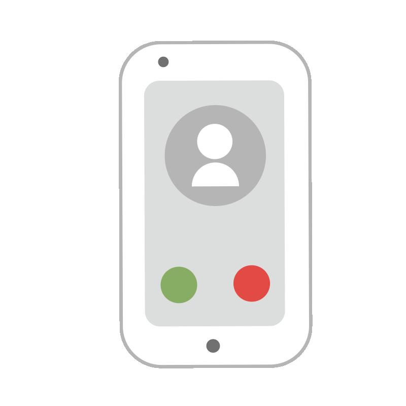 電話の画面のスマートフォン2