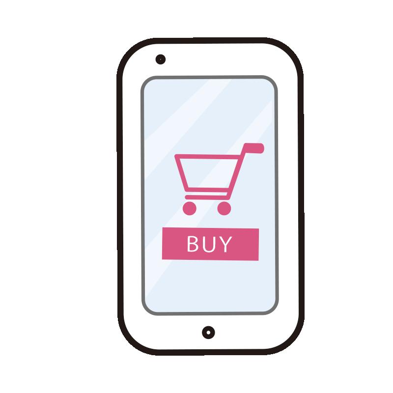 購入画面のスマートフォン1