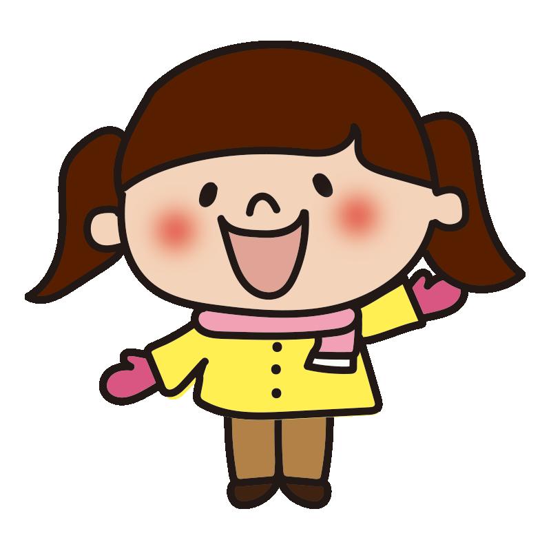 長袖の女の子2