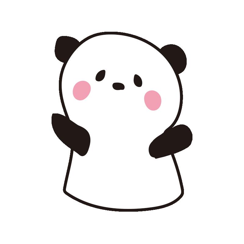パンダのパペット