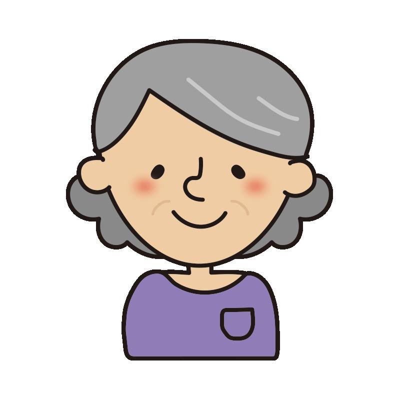 年配の女性1