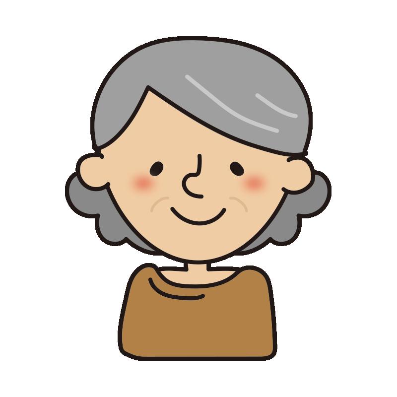 年配の女性2
