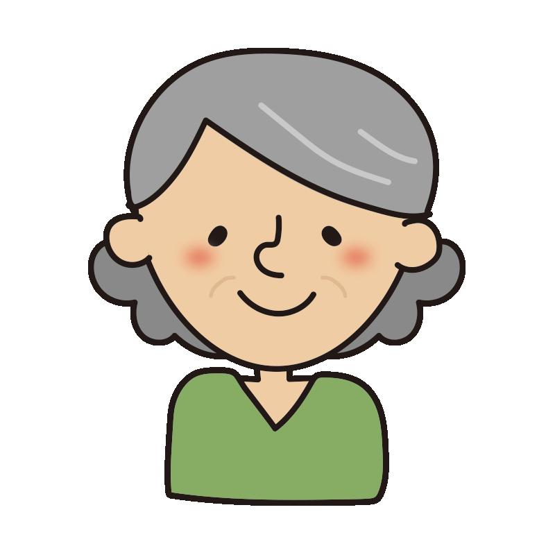 年配の女性3
