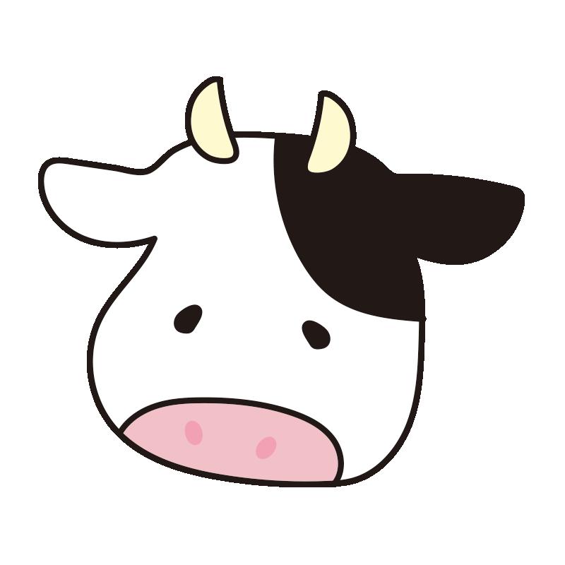 顔だけの牛