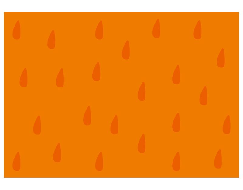 オレンジ柄の背景
