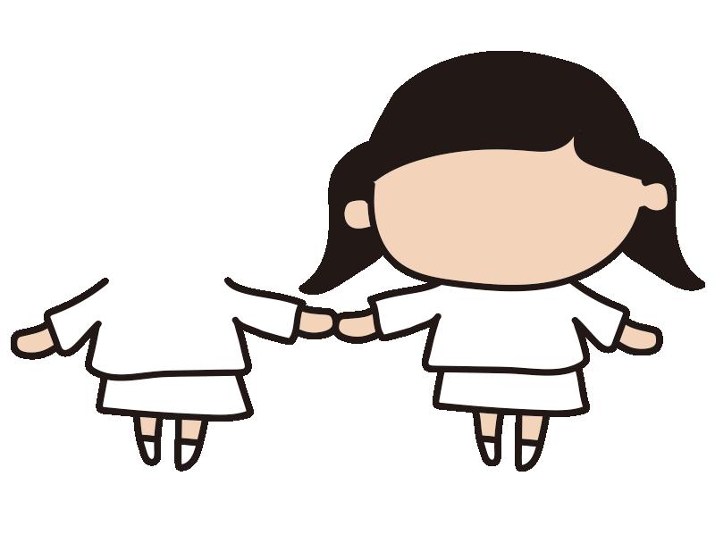 女の子と女の子2