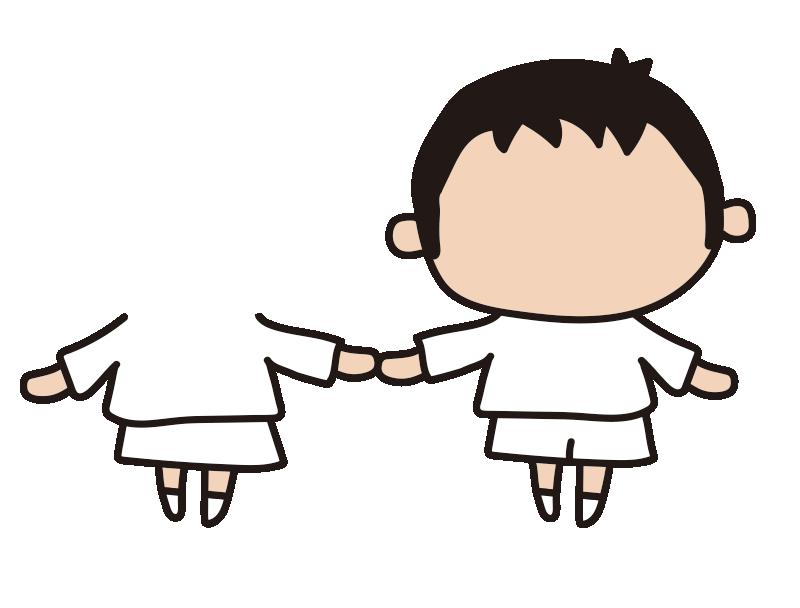 女の子と男の子1