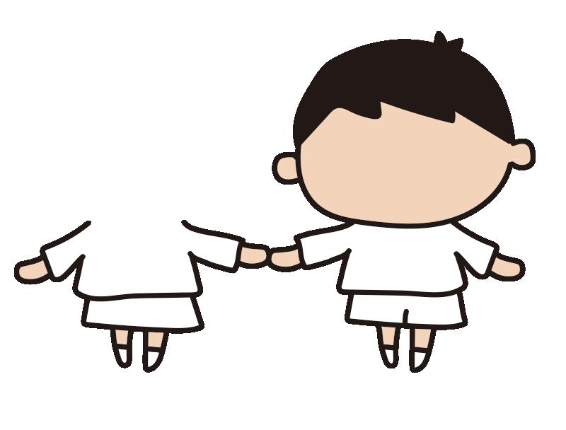 女の子と男の子2