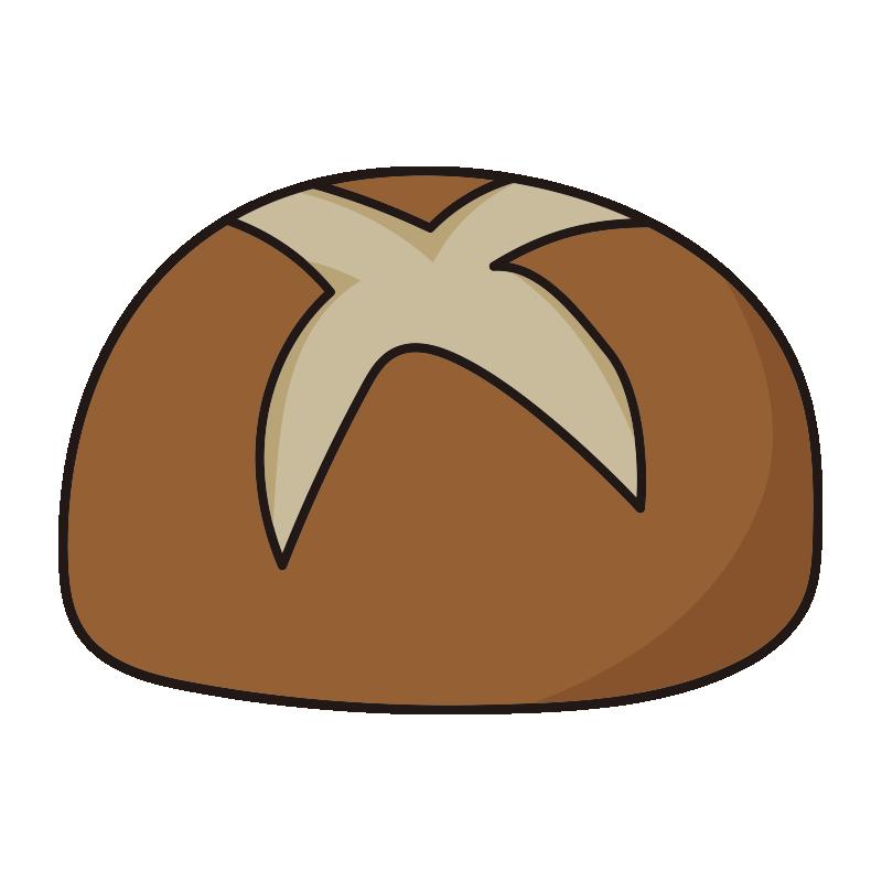 切り込みのある丸いパン1