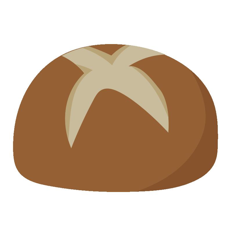 切り込みのある丸いパン2