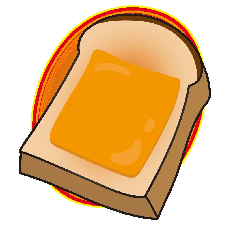 チーズがのったトースト