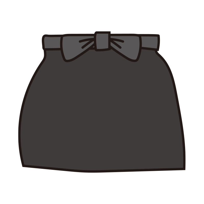 腰巻きエプロン(黒)