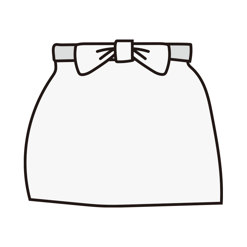 腰巻きエプロン(白)
