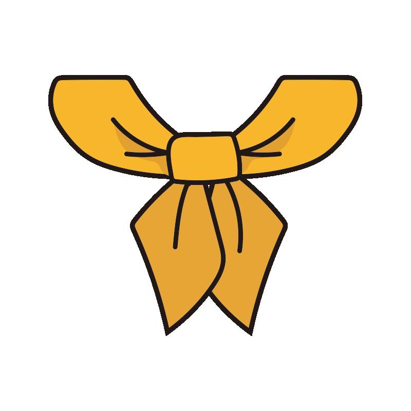 コックリボン(黄)