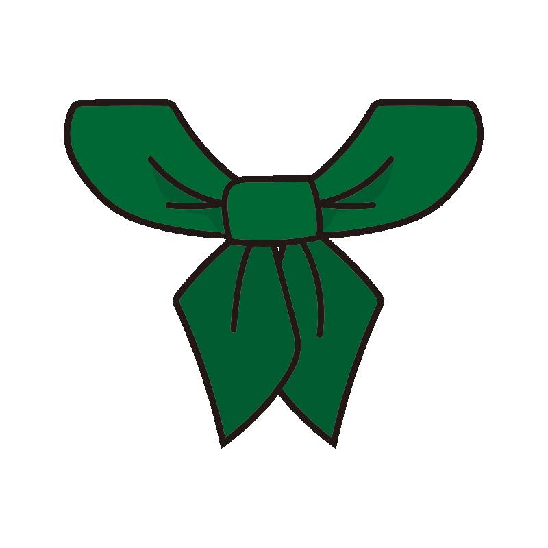 コックリボン(緑)