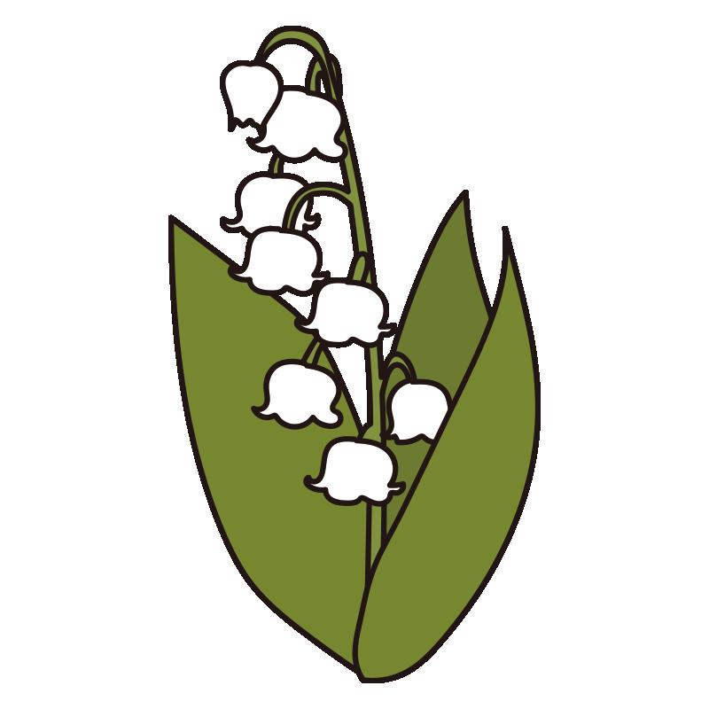 すずらんの花1