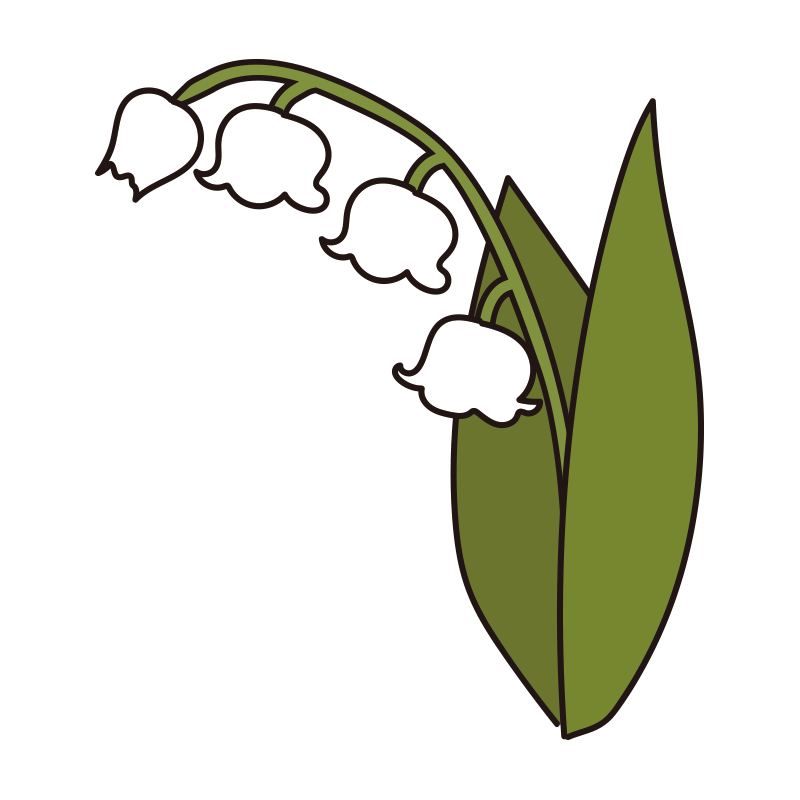 すずらんの花3
