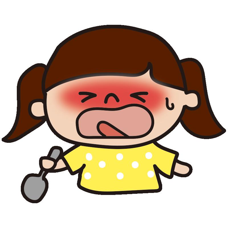 辛い表情の女の子2