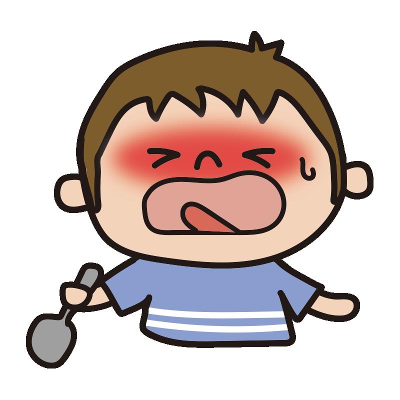 辛い表情の男の子1