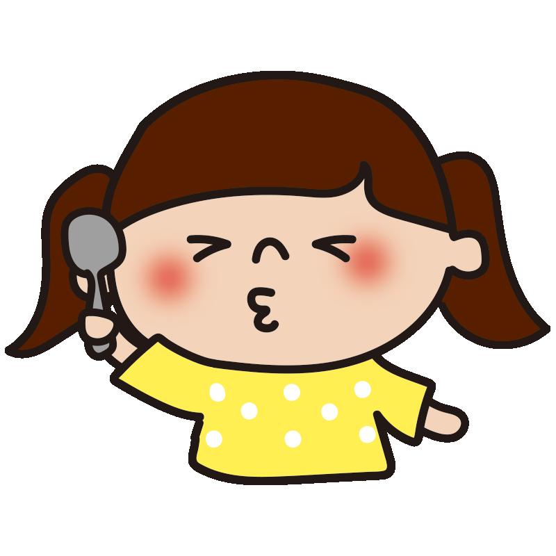酸っぱい表情の女の子2